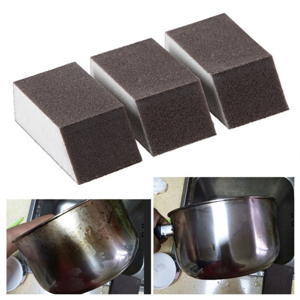 Nano Sponge Magic Eraser For Removing Rust Cleaning Cotton Emery Sponge Melamine Sponge Kitchen Supplies Descaling Clean GHMY(China)