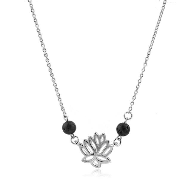 Toucheart женские ювелирные изделия лава черные камни на заказ