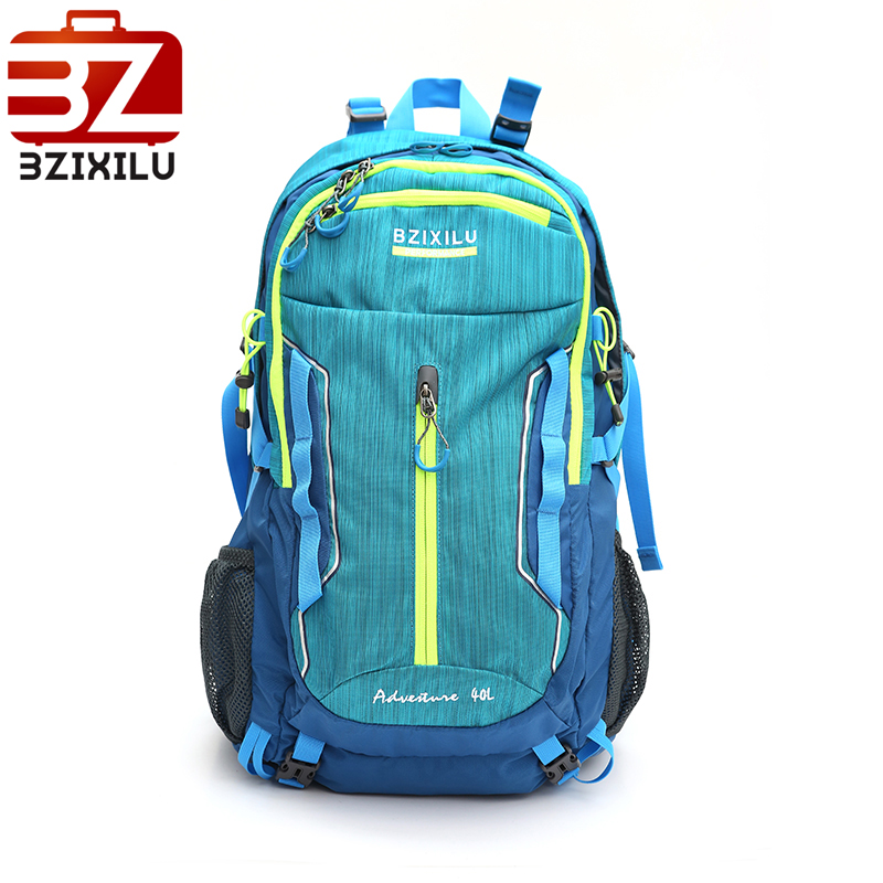 Travel backpack 40L waterproof nylon bag with Rain cover for Climbing Hiking Camping Mountaineering bagpack 40l outdoor backpack travel climbing backpacks waterproof rucksack mountaineering bag nylon camping hiking backpack