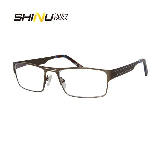 Aliexpress.com : Buy brand designer eyeglasses men metal glasses ...