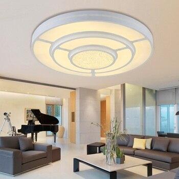 Moderne Decke FÜHRTE Wohnzimmer Deckenleuchten Rechteckige Einfache Moderne  Schlafzimmer Esszimmer Atmosphäre Runden FG158