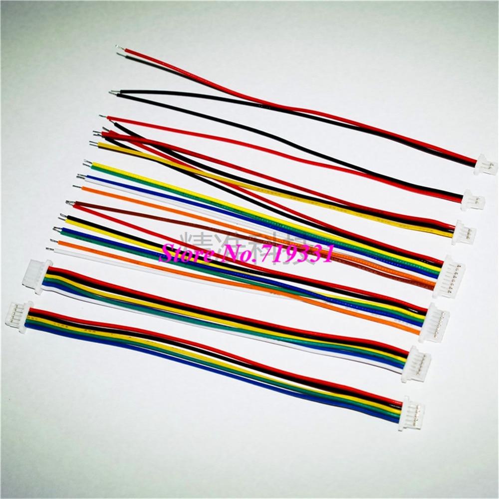 10pcs Mircro Mini  JST SH  1.0mm SHR-03V-S-B 04V HOUS Housing With Cable
