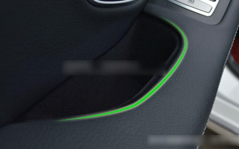 Pour Benz classe C W205 2014 2015 arrière intérieur accoudoir boîte de rangement 2 pcs