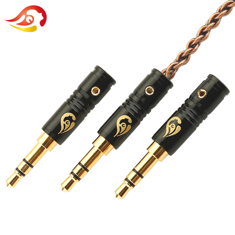QYFANG 100pcs 3.5mm Plug Audio Jack 3 Pole HiFi Earphone Splice Adapter Headphone DIY Stereo Repair Solder Wire Connector Plugs цена