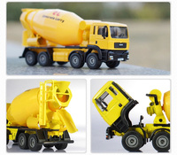 1: 50 KDW alloy car model engineering series mixer truck children's toys