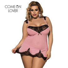 3821d288cb Comeonlover Womens Lingerie And Exotic With G string Romantic Lace Women  Pajamas Porno Backless Big Size