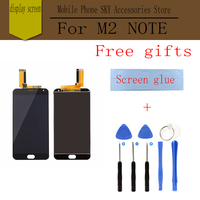 Original LCD For MEIZU M2 Note Display Screen Digitizer Touch Screen Meiblue Note2 Glass Panel 5