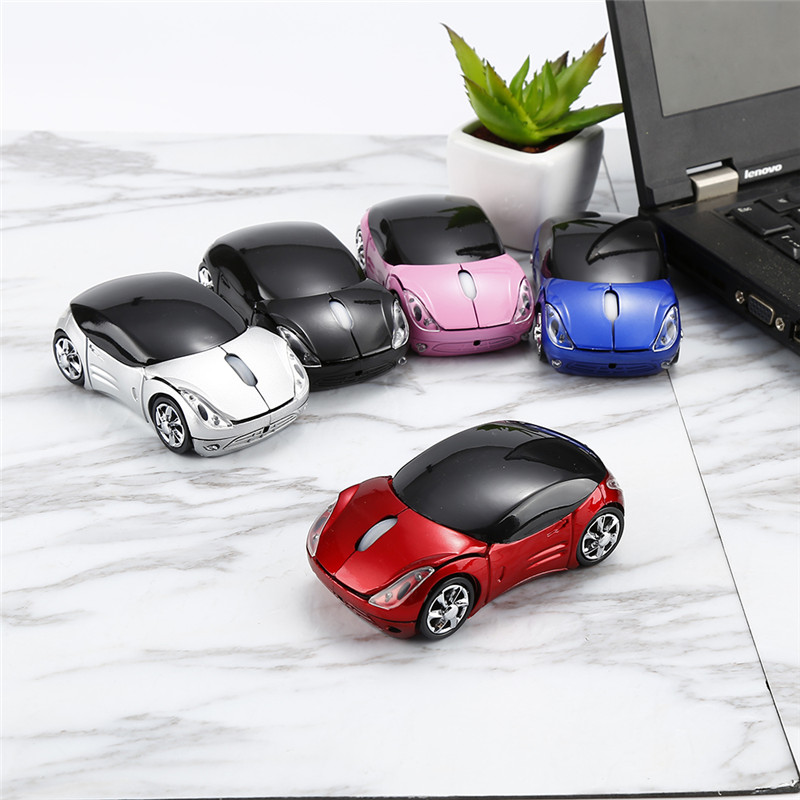 2017 New Wireless mouse cool fashion super car shaped mouse USB 2.4Ghz optical mouse mice for pc laptop computer high-quality