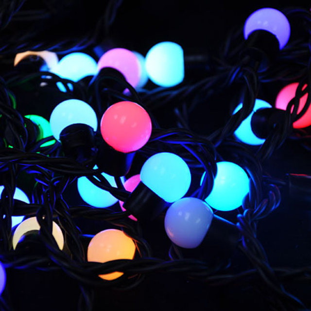 Online shop sunli house holiday lighting 4m 50pcs little plastic image mozeypictures Choice Image