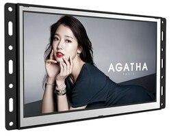 7 10,1 15,6 zoll open frame FÜHRTE LCD HD tv ips panel 1080 p display drahtlose netzwerk touch interaktive digital totem