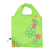 Creative Environmental Storage Bag Handbag Pineapple Grape Fruits Foldable Shopping Bags Reusable Grocery Nylon Eco Tote