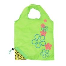 Creative Environmental Storage Bag Handbag Pineapple Grape Fruits Foldable Shopping Bags Reusable Grocery Nylon Eco Tote