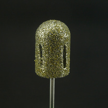 16*25mm 2017 Pro. 1pcs coarse traditional polishing manicure pedicure diamond bit foot treatment of calluses Diamond BurrDC-10