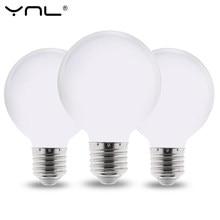 La Vía Láctea E27 bombilla de luz LED 220V 110V 85-265V Lampada LED lámpara G80 G95 G125 ampolla bombilla LED frío/caliente blanco para la lámpara de araña