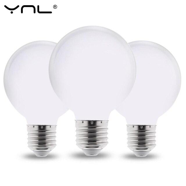 Cold Bulb G95 White Warm For Led Lamp Light 85 110v Milky E27 G80 265v Ampoule 220v G125 Chandelier Lampada thsdrQC
