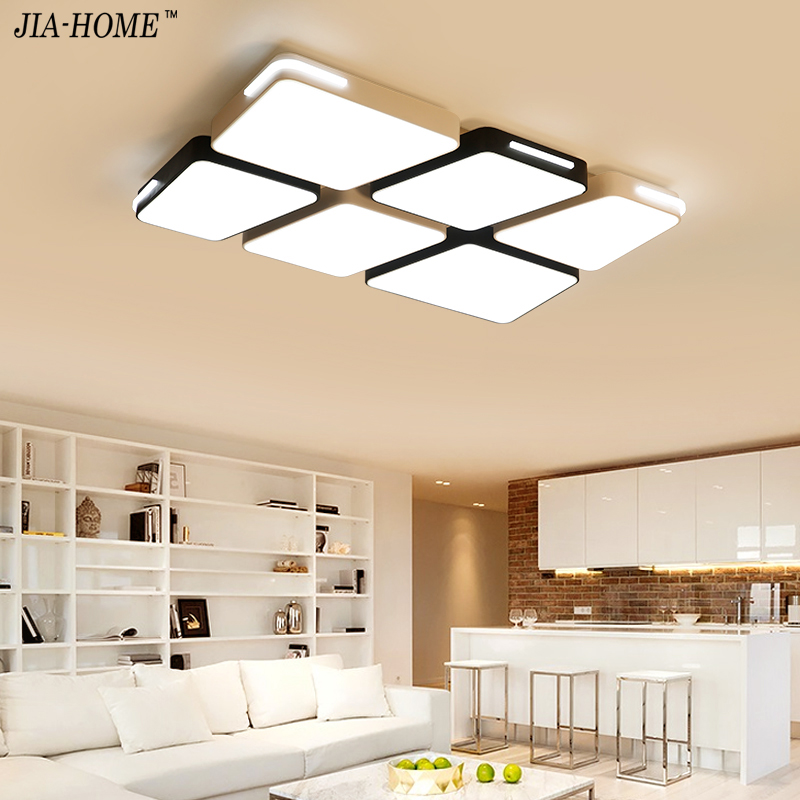 Surface mounted modern ceiling lights living room bedroom light home led lighting fixtures Metal design luminaire lamp home dero