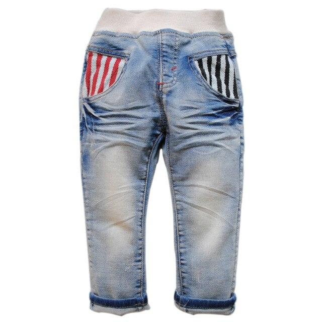 6134 светло-голубые детские джинсы мальчиков джинсы дети брюки весна брюки мальчик девочки ребенок мягкие джинсовые брюки дети мода