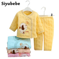 2016 Winter Newborn Baby Girl Clothes Sets Brand Infant Clothing Soft Warm Cotton Baby Boy Clothing