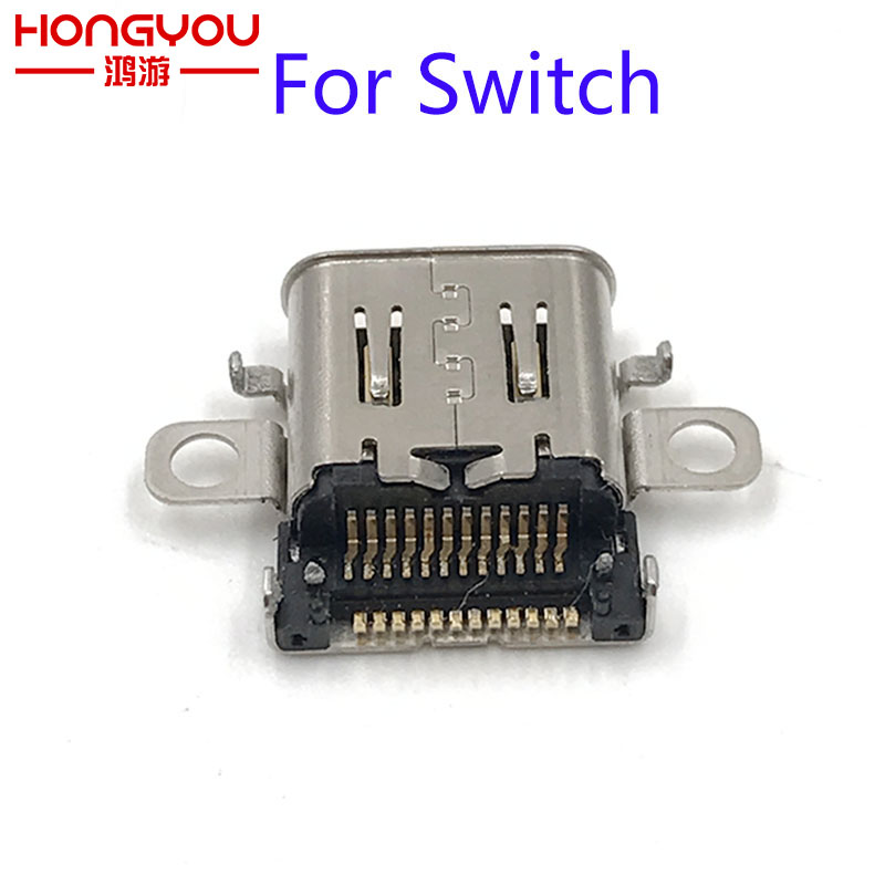 Original Charging Port For Nintendo Switch Lite NS Console Charging Port Power Connector Type-C Charger Socket