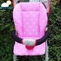 Punto de Color de algodón cochecito liner cojín del asiento cochecito pad mat cubierta de asiento suave para bebé cochecito infantil gruesa cómodo colchón