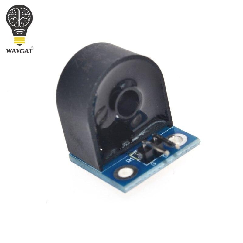 1 шт. 5A Сенсор диапазон однофазный модуль переменного тока Сенсор модуль для Arduino