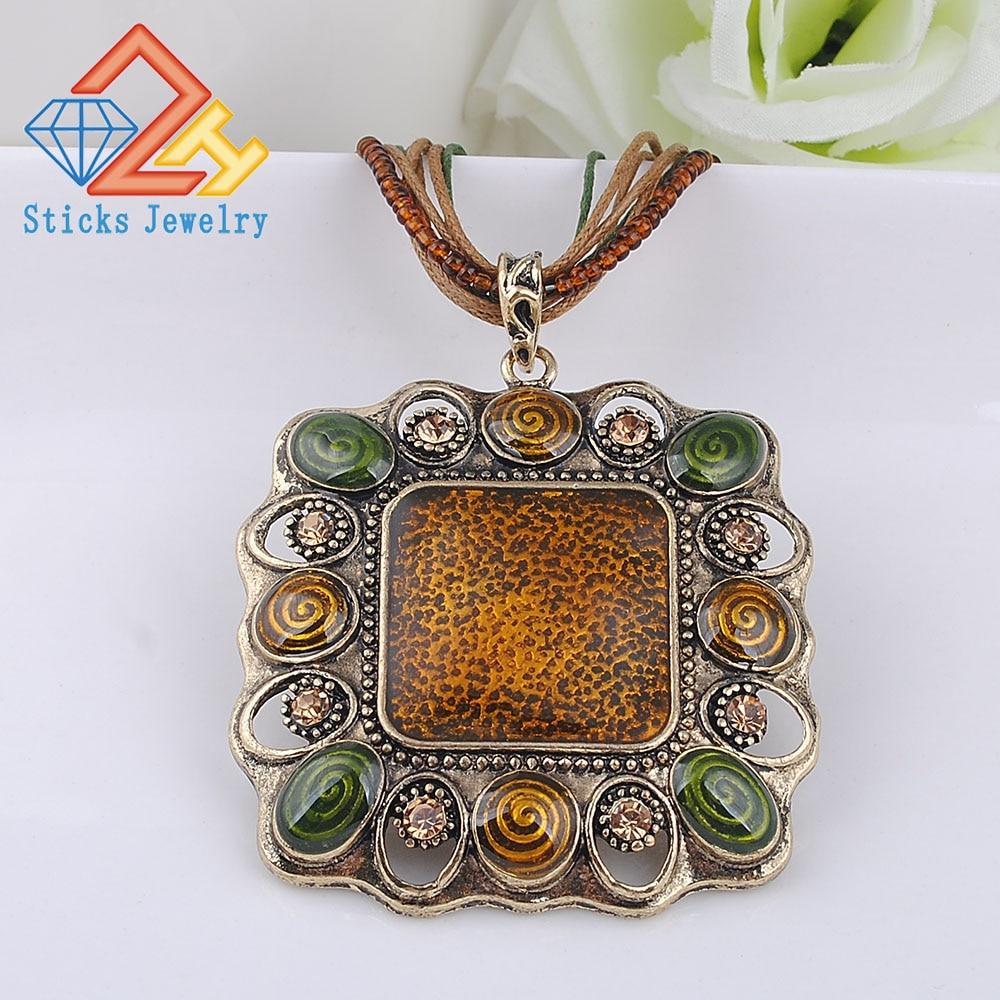 Necklace (1piece / lot) 100% Environmentally Friendly Zinc Alloy Ladies Drop Oil Pendant