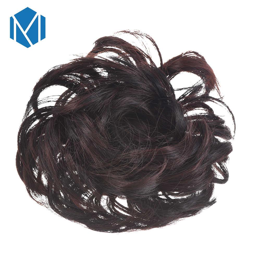 M MISM Новая мода кудрявый парик эластичные резинки для волос Высокое качественный конский хвост держатели для женщин резинки для девочек резинка для волос аксессуары тросы