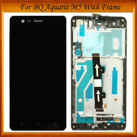 100% Tested OK For BQ Aquaris M5 LCD Screen With Touch Screen Display For BQ M5 Digitzer Assembly With/Without Frame IN Stock