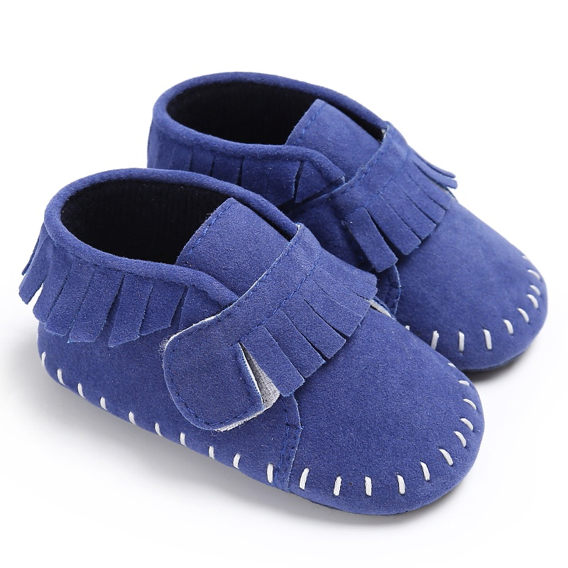 2017 New Unisex Baby Shoes Newborn Kids Shoes Classic Baby Soft Stitched Soft Soled Infant First Walks
