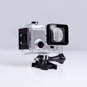 Image 3 - מקורי מתחת למים מקרה עבור G3 Git3 GITUP Git2 Git2P 90 תואר צלילה 30M עמיד למים דיור קיצוני קסדת מיני פעולה מצלמת