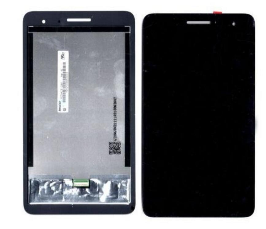 lcd complete For Huawei Honor Play Mediapad T1-701 T1 701U T1-701U lcd display touch screen replacement panel assembly replacement original touch screen lcd display assembly framefor huawei ascend p7 freeshipping