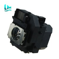 Original burner inside for ELPLP56 for V13H010L56 bulb for Epson Moviemate 62 H319A Moviemate 60 EH DM3 180 days warranty|Projector Bulbs| |  -