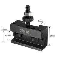שינוי מהיר 250-001 מחרטה CNC כלי מחזיק שינוי מהיר כלי הודעה קאטר מחזיק בורג Kit סט משעמם בר מפנה מול ברגים מחזיק (2)