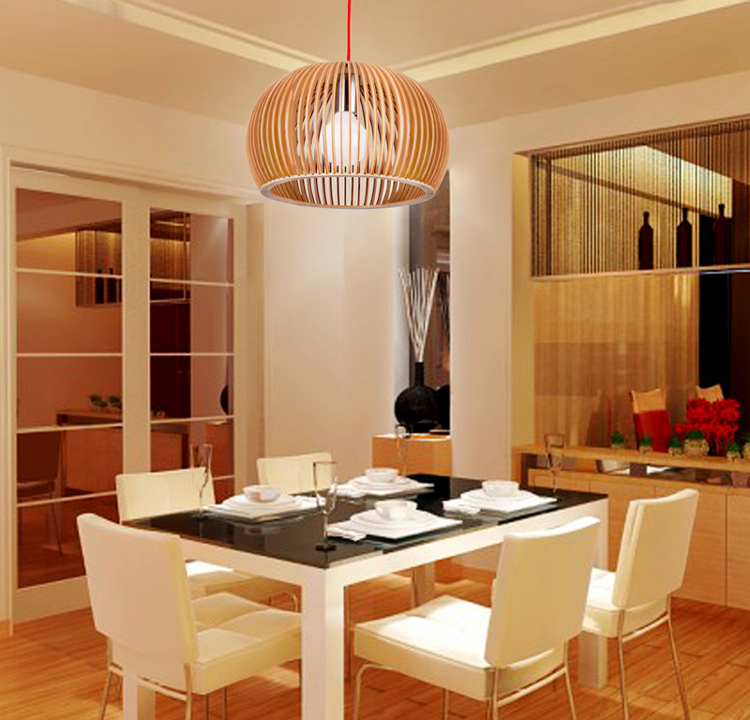 Tom minimalist modern wood chandelier restaurant creative personality living room logs genuine special spherical lighting direct in arm warmers from womens