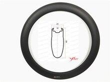 Disc braking available 23mm 25mm road clincher rims 60mm deep, FSL60CM-23T, Far sports good quality tubeless design rims