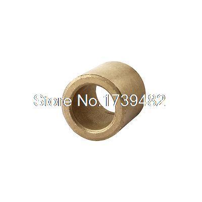 Oil Impregnated Sintered Bronze Bushing 12mm Bore x 18mm OD x 18mm LongOil Impregnated Sintered Bronze Bushing 12mm Bore x 18mm OD x 18mm Long