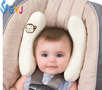 Travesseiros de bebê 34 cm * 45 cm * 70 cm Dos Desenhos Animados do bebê cinto de segurança do carro travesseiro cobre para crianças de carro do bebê do assento de carro travesseiro travesseiro encosto de cabeça do banco apoio
