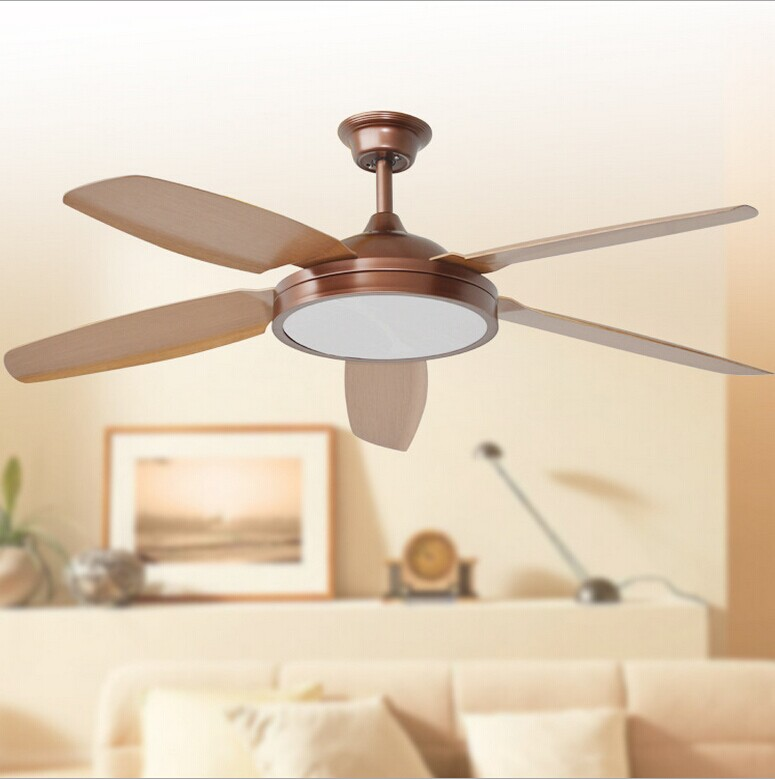 LED Ceiling Fan With Lights Remote Control AC110 240V Fan