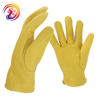 OLSON DEEPAK Sheepskin Wesr Resistant Factory Drive Gardening Carrying Cape Work Gloves HY007 Free Shipping