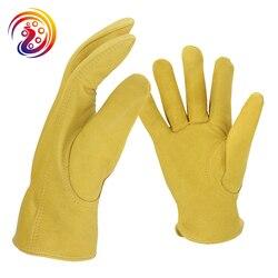 OLSON DEEPAK Gardening Work Gloves Drivers Gloves Factory Carrying Cape Sheepskin Gloves HY007