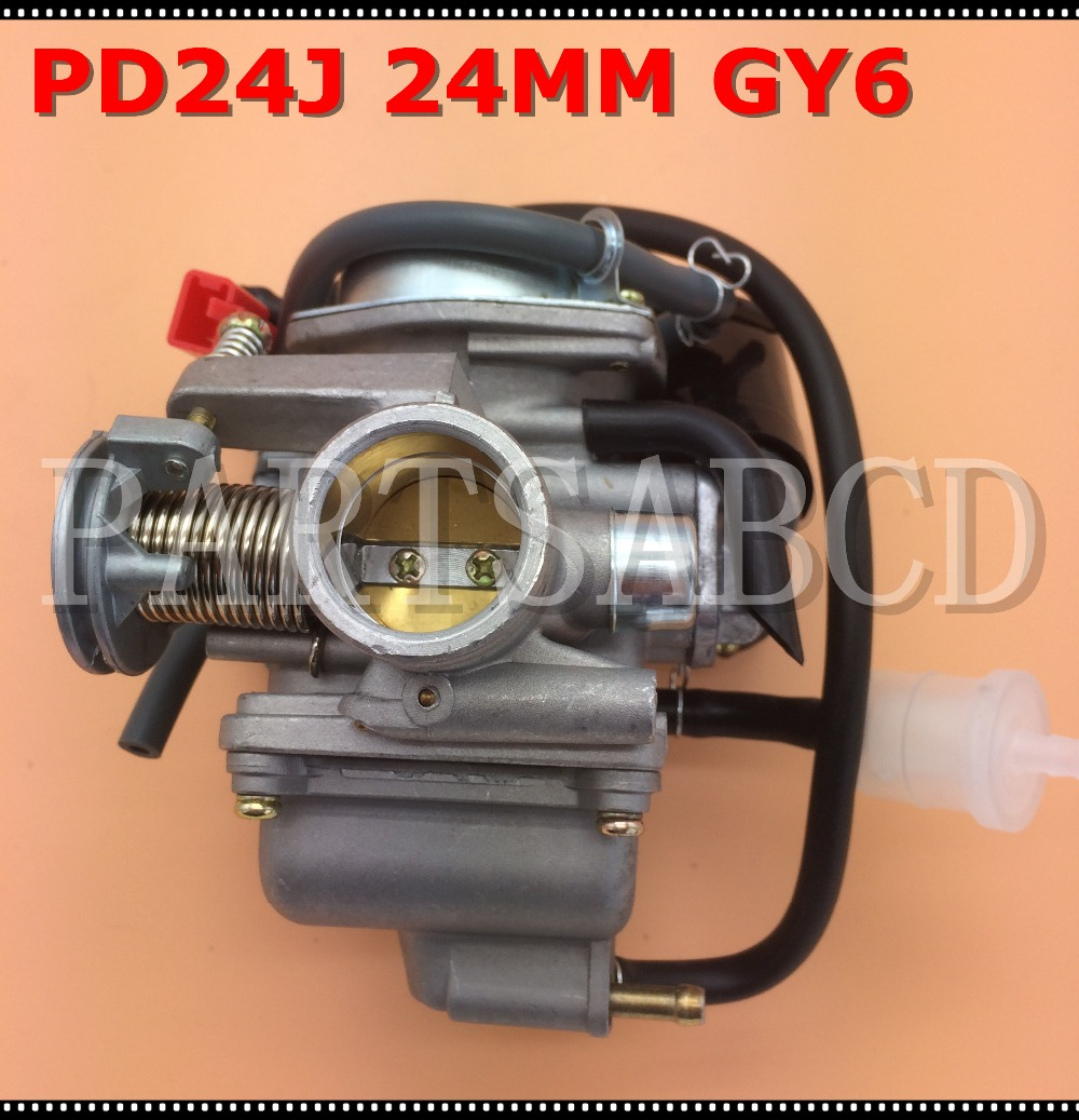 24mm Pd24j Carburetor Carb Gy6 125cc 150cc Scooter Go Kart Atv Quad Moped Parts Beneficial To The Sperm Back To Search Resultsautomobiles & Motorcycles
