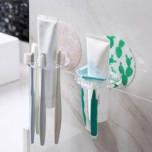 Перфоратор для пластика без зубной щетки держатель для хранения бритвы стойка сильный всасывающий диспенсер для зубной пасты для ванной Органайзер аксессуары