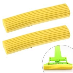 2pcs home sponge mop head repl
