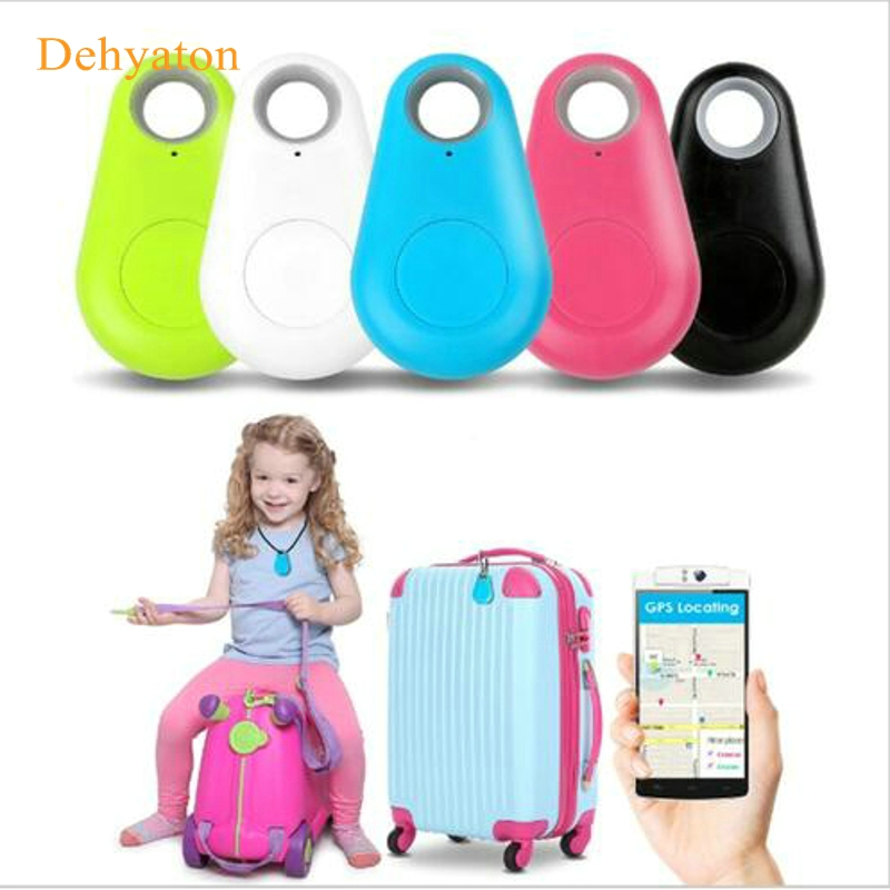 Dehyaton Bluetooth 4.0 Key Finder Anti-lost Alarm Mini Finder Localizador GPS Tracker Child Pet Smart Tracker para iPhone para Samsung