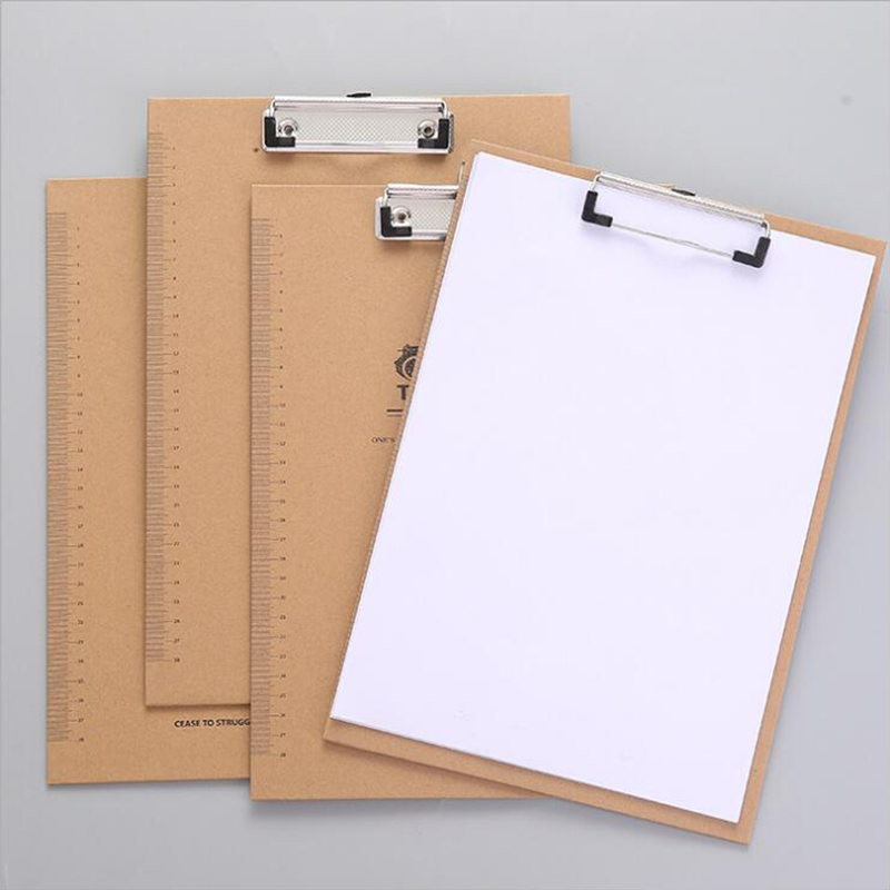1PCS A4 Folder Cartoon Large Writing Board Suitable For Young People To Use Office Writing Pad Campus Learning Equipment