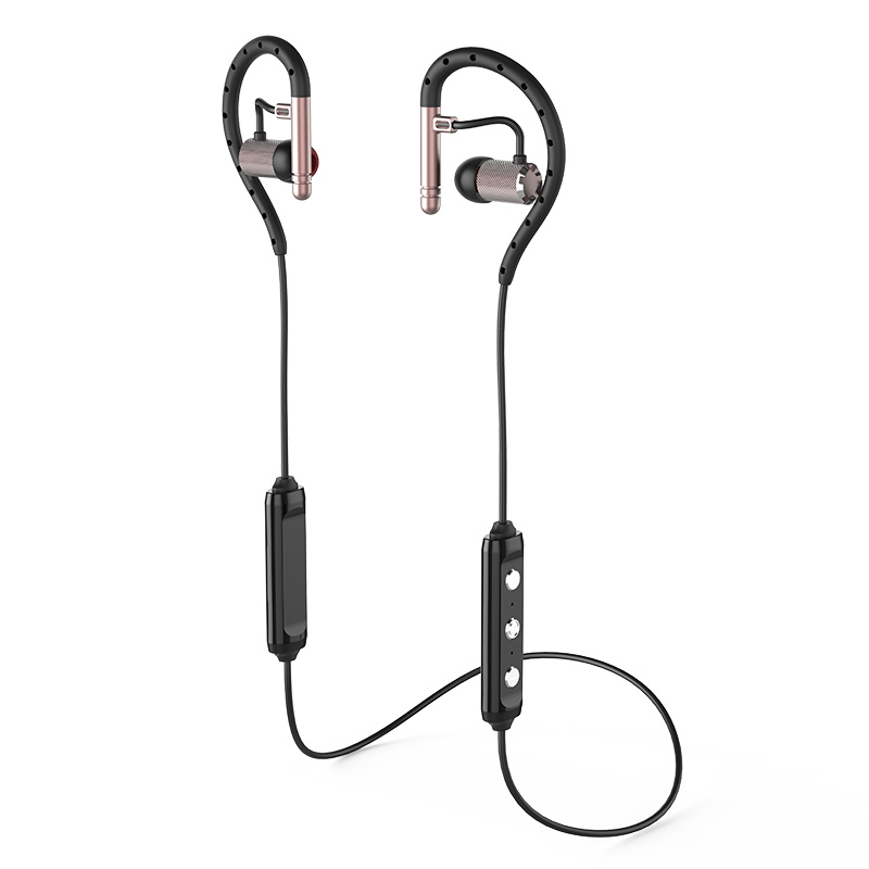 Sports Bluetooth Headset Wireless Handsfree Bluetooth earphone Noise Cancelling Voice Command Earphone HD Stereo earbud S503 bq 618 wireless bluetooth v4 1 edr headset support handsfree earphone with intelligent voice navigation for cellphones tablet
