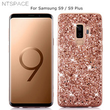 Bling Glitter Case for Samsung Galaxy S10X S9 S8 Plus Luxury Crystal Flash Powder S10 lite S7 Edge 5G Cover