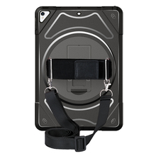 Miesherk Case for iPad Pro 10.5 with 360 Degree Rotating Hand Strap and Neck Strap,Shockproof Drop Protection inch