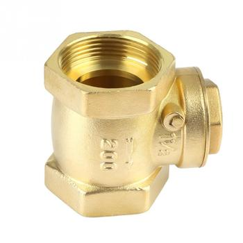DN40 Check Valve Non-Return Valve Female Thread Brass Non-return Swing Check Valve 232PSI Prevent Water Backflow ford eoaz 7e195 b ball check valve
