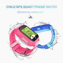 цена на M06 2018 Hot Kids GPS Tracking Watch SOS Call Location Finder Swimming Waterproof DH Camera SIM Baby Satety Monitor Smartwatch